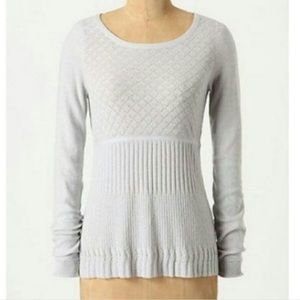 Anthro | Guinevere Lozenge Pullover Knit Sweater